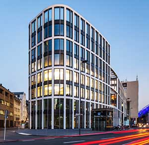 Coeur Cologne Commercial Building KÖSTER TPO Waterproofing