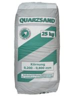 KÖSTER Quarzsand - Bestandteil der KÖSTER OS 8 - Beschichtung